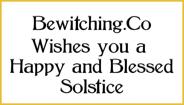 Solstice Blessings to You!